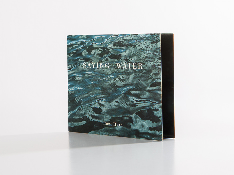 Roni Horn Saying Water Audio Cd | Books | Dia
