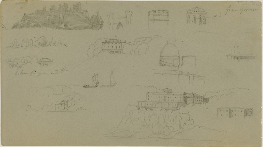 Havell, Jr., Studies from Garrisons, c. 1848