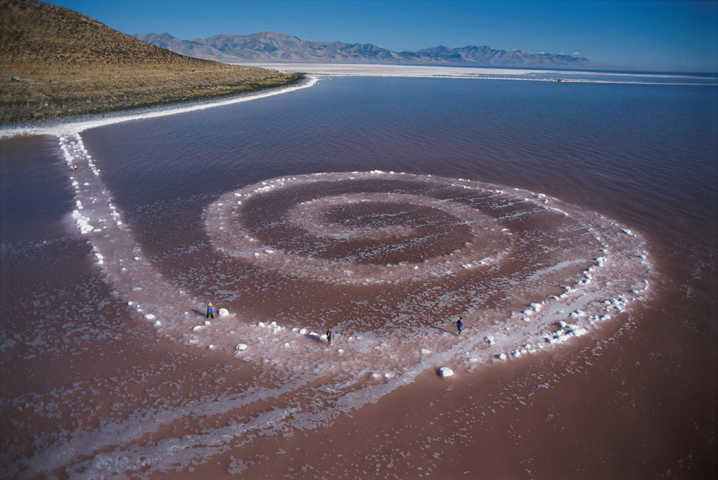 Image result for spiral jetty