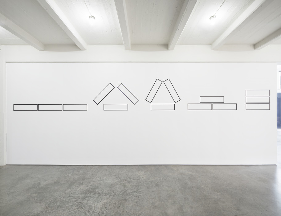 Weiner, 5 Figures of Structure, 1987