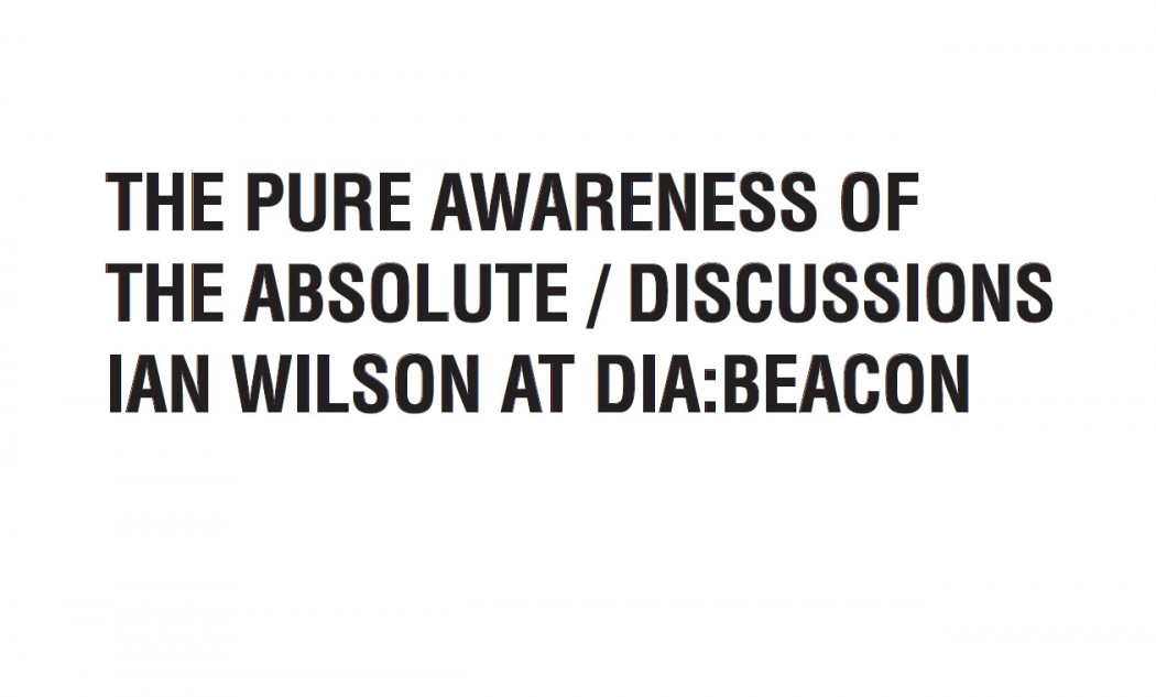 Ian Wilson - The Pure Awareness of the Absolute