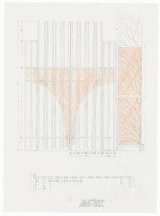 Irwin, Rendering of iron gate for Dia:Beacon, 2001–02