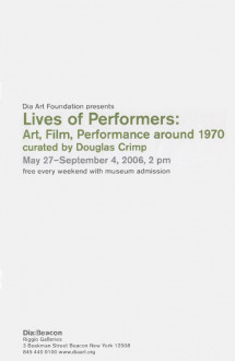 Lives of Performers Brochure Cover