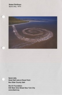 Smithson, Robert, Spiral Jetty brochure cover
