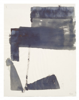 Palermo, Untitled (Composition with Right-Angled Forms and 2 Triangles), 1964