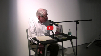 John Ashbery and Paolo Javier Video from Readings in Contemporary Poetry