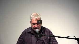 Larry Fagin and Mitch Highfill Video from Readings in Contemporary Poetry