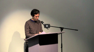 Laura Moriarty and Kimberly Lyons Video from Readings in Contemporary Poetry
