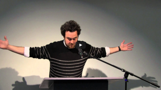 Lewis Warsh and John Coletti Video from Readings in Contemporary Poetry