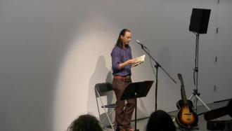 Norma Cole and Julian Talamantez Brolaski Video from Readings in Contemporary Poetry