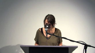 Robert Kelly and Anna Moschovakis Video from Readings in Contemporary Poetry