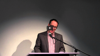 Ron Padgett and Thomas Devaney Video from Readings in Contemporary Poetry