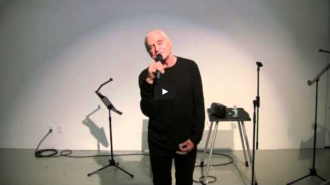 Taylor Mead and John Giorno Video from Readings in Contemporary Poetry
