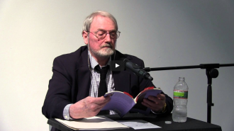 Tony Towle and Jennifer Moxley Video from Readings in Contemporary Poetry